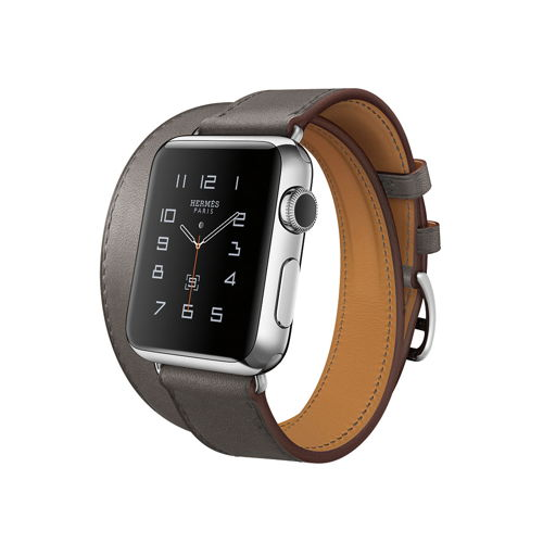 Phát Hiện Sở Thích Đeo Đồng Hồ Của 25 Người Nổi Tiếng Ở Hollywood Đồng hồ thông minh Apple bằng thép không gỉ đi kèm dây da Hermès của Grey Shonda Rhimes