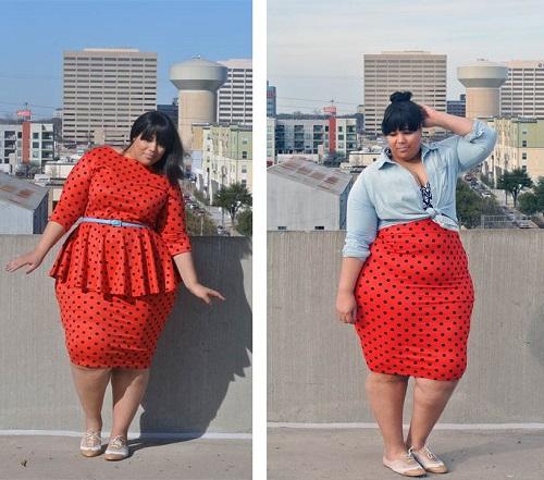 quy tắc thời trang công sở cho người béo 6