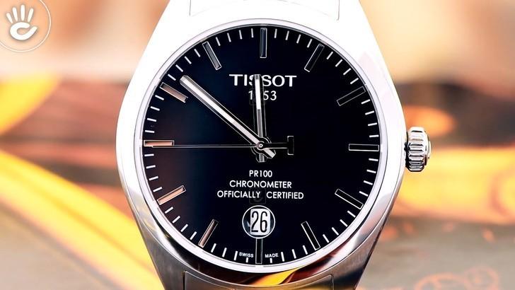 Đồng hồ Tissot T101.451.11.051.00 chống nước lên đến 10ATM - Ảnh 2