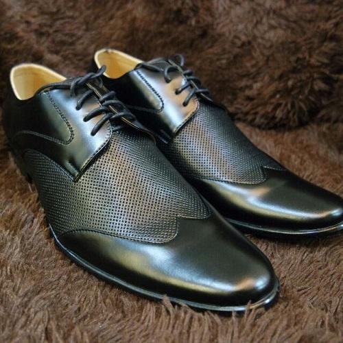 vật liệu giày da công sở nam 5