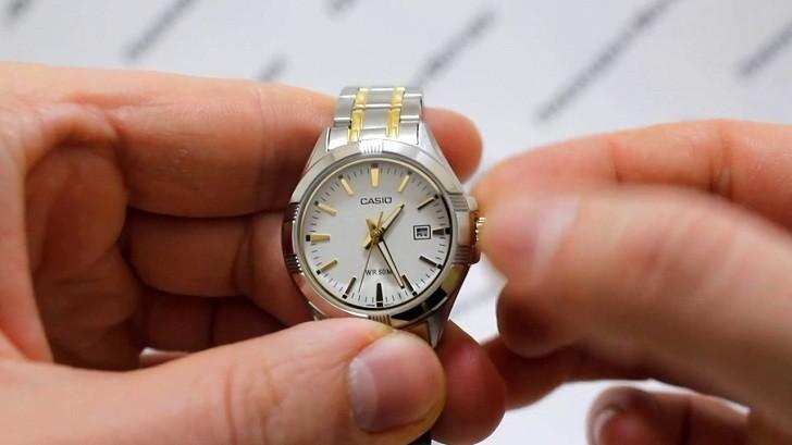 Đồng hồ Casio LTP-1308SG-7AVDF giá rẻ, thay pin miễn phí - Ảnh 2