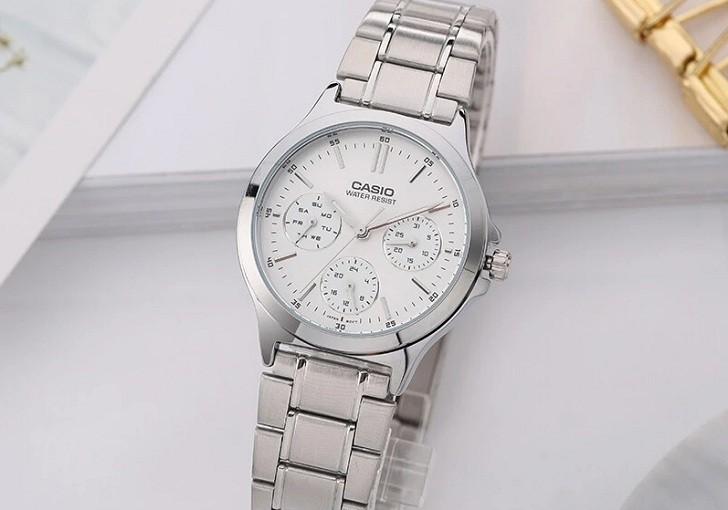 Đồng hồ Casio LTP-V300D-7AUDF giá rẻ, thay pin miễn phí - Ảnh 5