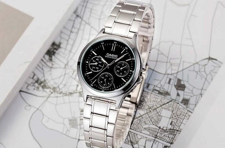 Đồng hồ Casio LTP-V300D-7AUDF giá rẻ, thay pin miễn phí - Ảnh 7