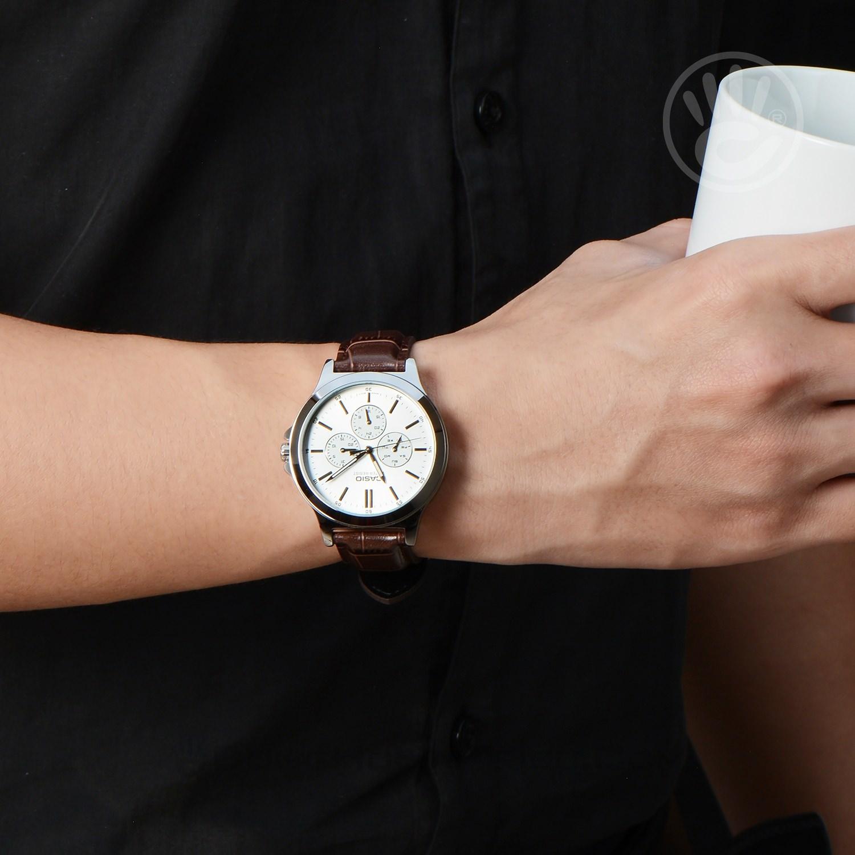 Casio Mtp V300l 7audf Nam Quartz Pin Dy Da Ng H Hi Triu Ltp 1095q 9a Womenamp039s Watch