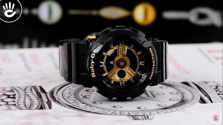 Đồng hồ nữ Baby-G BA-110-1ADR giá rẻ, thay pin miễn phí - Ảnh 1