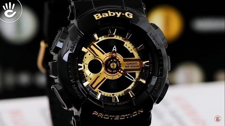 Đồng hồ nữ Baby-G BA-110-1ADR giá rẻ, thay pin miễn phí - Ảnh 2