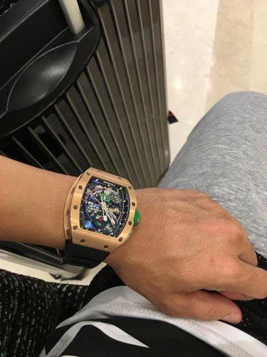 Bộ Sưu Tập Đồng Hồ Minh Nhựa Đang Sở Hữu Trị Giá Bao Nhiêu Tỷ Richard Mille RM 11-01 Roberto Mancini