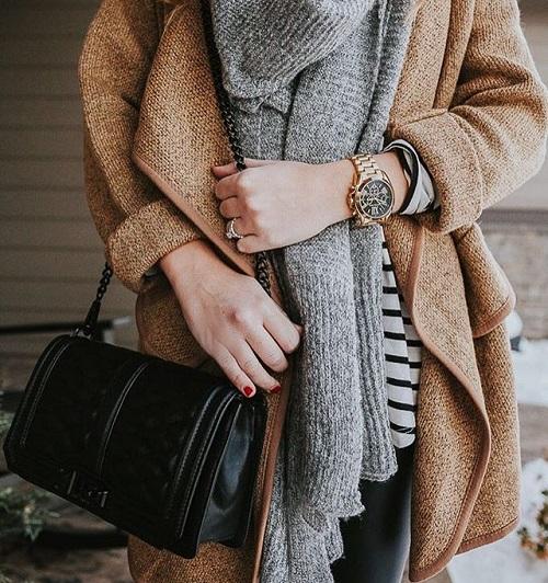 cách mặc trang phục công sở mùa đông đẹp hơn 4