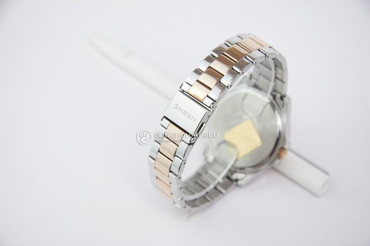 Đồng hồ nữ Casio SHE-3047SG-7AUDR đính đá sang trọng - Ảnh 2