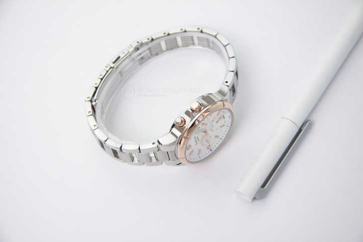 Đồng hồ nữ Casio SHE-3047SG-7AUDR đính đá sang trọng - Ảnh 3