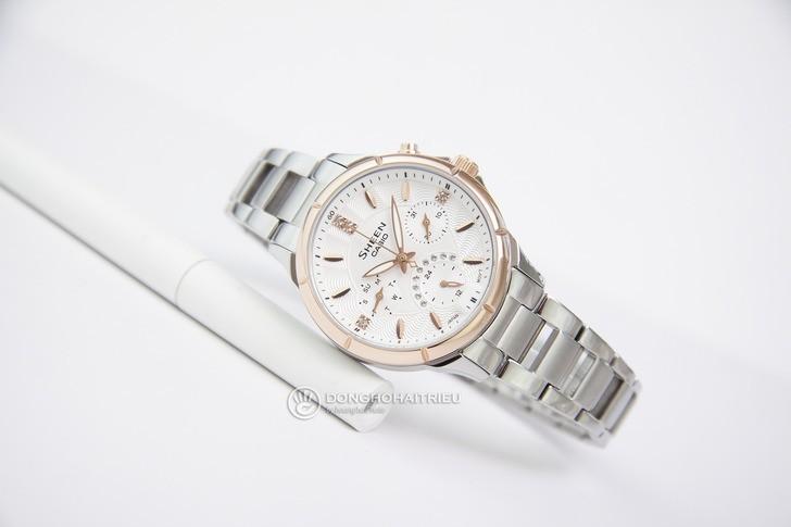 Đồng hồ nữ Casio SHE-3047SG-7AUDR đính đá sang trọng - Ảnh 4
