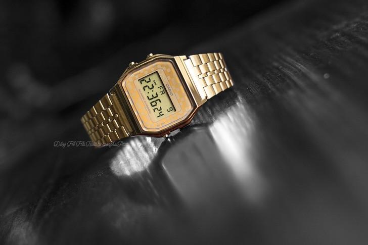 Đồng hồ Casio A159WGEA-9ADF giá rẻ và thay pin miễn phí - Ảnh 1