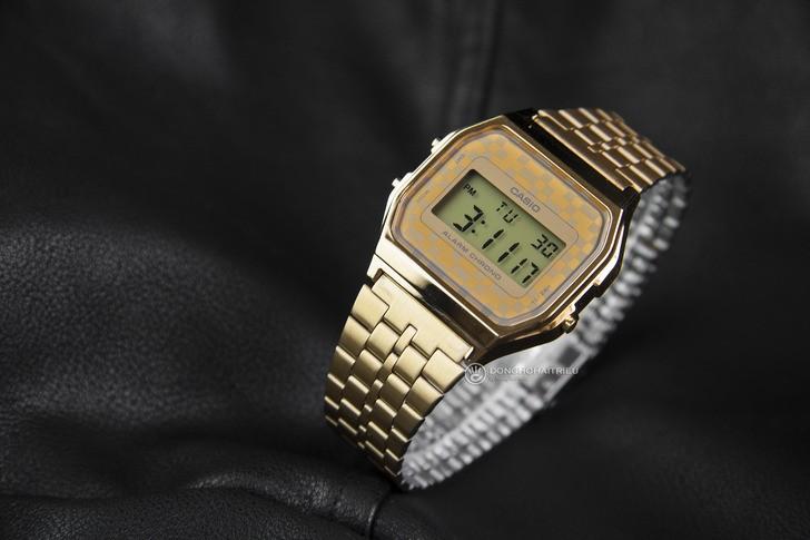 Đồng hồ Casio A159WGEA-9ADF giá rẻ và thay pin miễn phí - Ảnh 3
