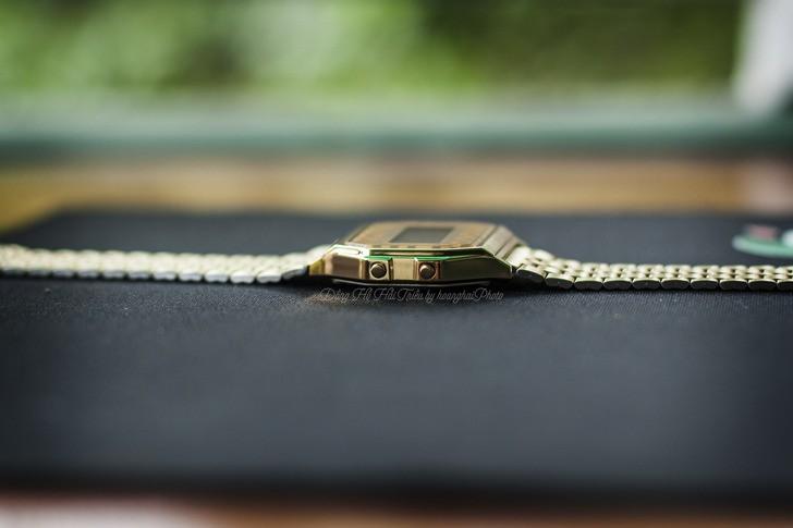 Đồng hồ Casio A159WGEA-9ADF giá rẻ và thay pin miễn phí - Ảnh 6
