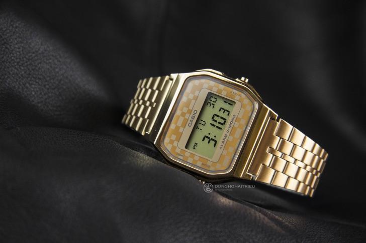 Đồng hồ Casio A159WGEA-9ADF giá rẻ và thay pin miễn phí - Ảnh 7
