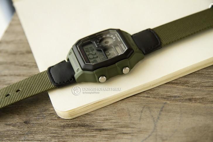 Đồng hồ Casio AE-1200WHB-3BVDF giá rẻ, thay pin miễn phí - Ảnh 5