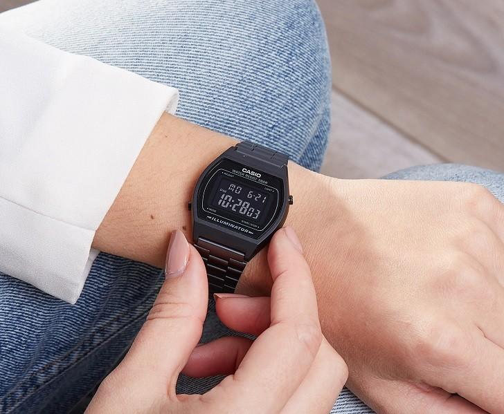 Đồng hồ Casio B640WB-1ADF giá rẻ, được thay pin miễn phí - Ảnh 4