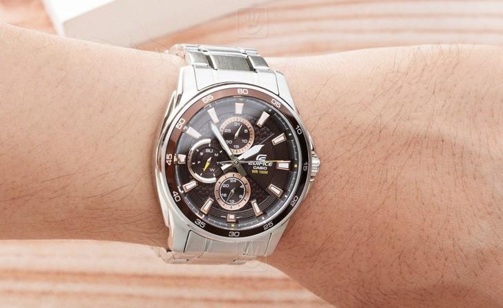 Đồng hồ Casio EF-334D-5AVUDF: vẻ ngoài mạnh mẽ, cứng cáp - Ảnh 2