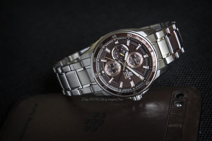 Đồng hồ Casio EF-334D-5AVUDF: vẻ ngoài mạnh mẽ, cứng cáp - Ảnh 3