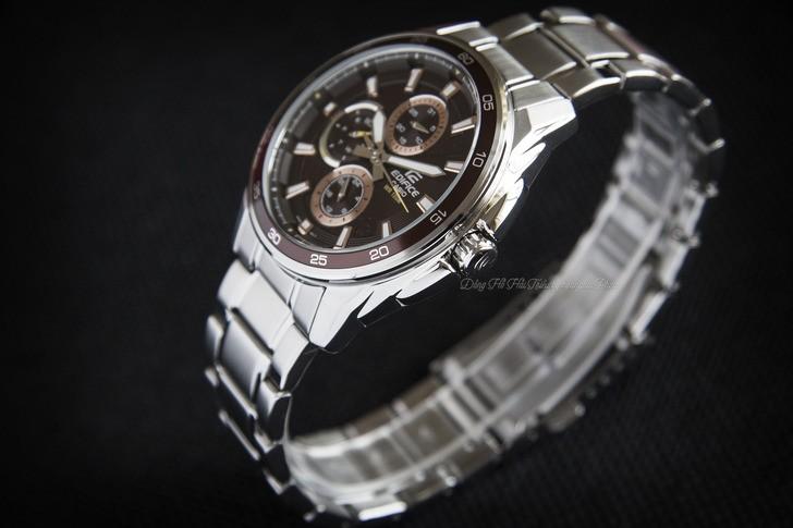 Đồng hồ Casio EF-334D-5AVUDF: vẻ ngoài mạnh mẽ, cứng cáp - Ảnh 1