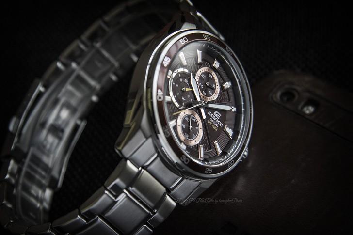 Đồng hồ Casio EF-334D-5AVUDF: vẻ ngoài mạnh mẽ, cứng cáp - Ảnh 5