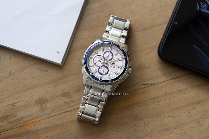 Đồng hồ Casio EF-334D-7AVUDF giá rẻ, thay pin miễn phí - Ảnh 1