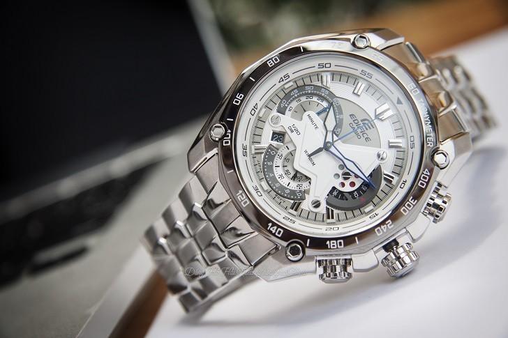 Đồng hồ nam Casio EF-550D-7AVUDF giá rẻ, thay pin miễn phí - Ảnh 3