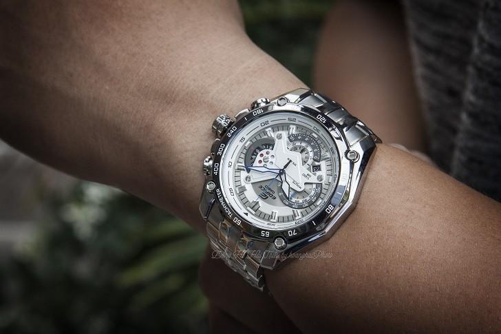 Đồng hồ nam Casio EF-550D-7AVUDF giá rẻ, thay pin miễn phí - Ảnh 4