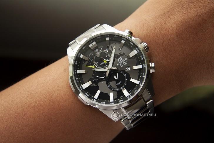Đồng hồ Casio EFR-303D-1AVUDF giá rẻ, thay pin miễn phí - Ảnh 2