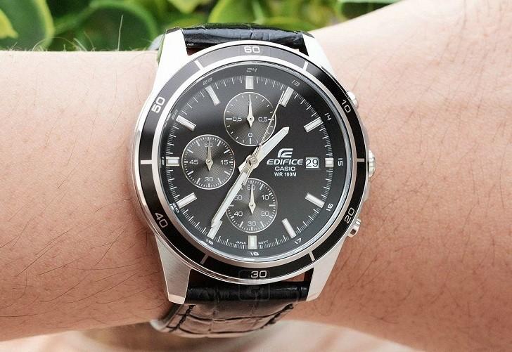 Đồng hồ Casio EFR-526L-1AVUDF giá rẻ, thay pin miễn phí - Ảnh 2