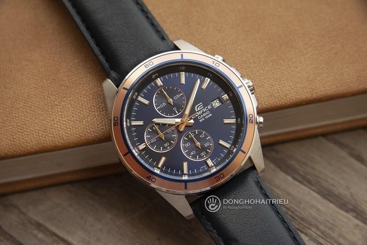 Đồng hồ Casio EFR-526L-2AVUDF giá rẻ, thay pin miễn phí - Ảnh: 1