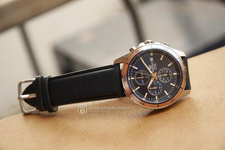 Đồng hồ Casio EFR-526L-2AVUDF giá rẻ, thay pin miễn phí - Ảnh: 6