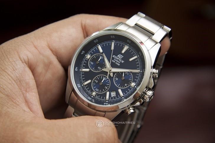 Đồng hồ Casio EFR-527D-2AVUDF giá rẻ, miễn phí thay pin - Ảnh: 1