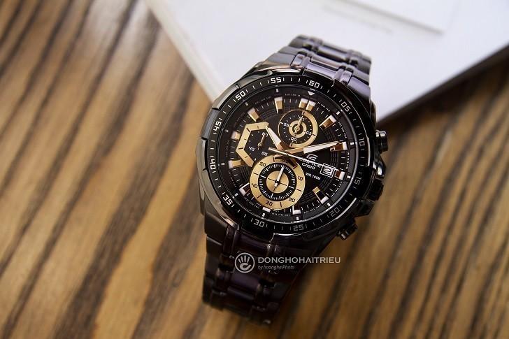 Đồng hồ Casio EFR-539BK-1AVUDF giá rẻ, thay pin miễn phí - Ảnh 1