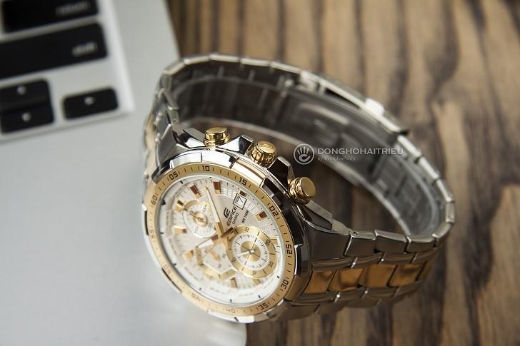 Đồng hồ Casio EFR-539SG-7AVUDF giá rẻ, thay pin miễn phí - Ảnh: 5