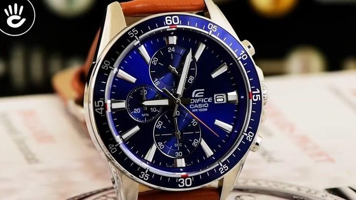 Đồng hồ Casio EFR-546L-2AVUDF giá rẻ, thay pin miễn phí - Ảnh 2