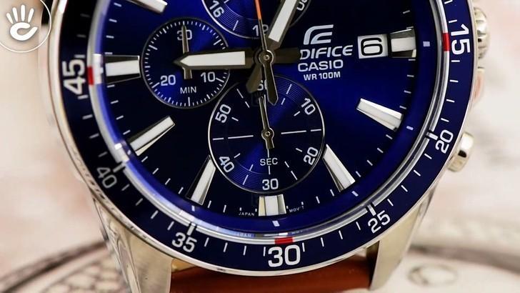 Đồng hồ Casio EFR-546L-2AVUDF giá rẻ, thay pin miễn phí - Ảnh 3