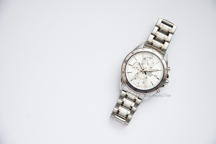 Đồng hồ Casio Edifice EFR-546SG-7AVUDF thay pin miễn phí - Ảnh 1