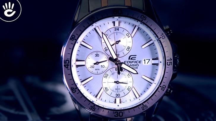Đồng hồ Casio Edifice EFR-546SG-7AVUDF thay pin miễn phí - Ảnh 3