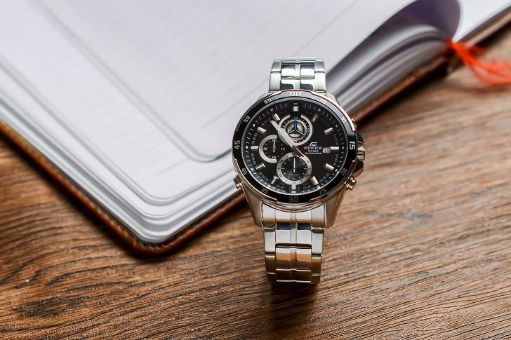 Đồng hồ Casio EFR-547D-1AVUDF giá rẻ, thay pin miễn phí - Ảnh 1
