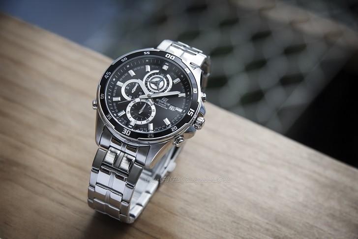 Đồng hồ Casio EFR-547D-1AVUDF giá rẻ, thay pin miễn phí - Ảnh 4