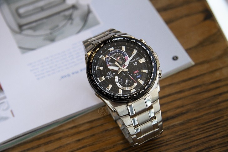 Đồng hồ Casio EFR-550D-1AVUDF giá rẻ, thay pin miễn phí - Ảnh 1
