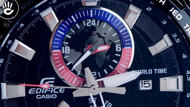 Đồng hồ Casio EFR-550D-1AVUDF giá rẻ, thay pin miễn phí - Ảnh 2
