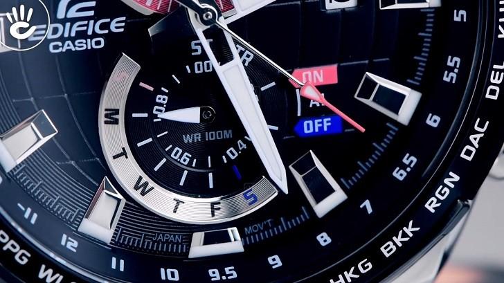 Đồng hồ Casio EFR-550D-1AVUDF giá rẻ, thay pin miễn phí - Ảnh 8