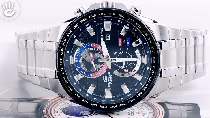 Đồng hồ Casio EFR-550D-1AVUDF giá rẻ, thay pin miễn phí - Ảnh 3