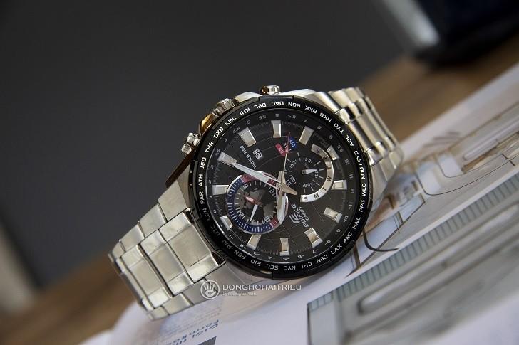 Đồng hồ Casio EFR-550D-1AVUDF giá rẻ, thay pin miễn phí - Ảnh 9