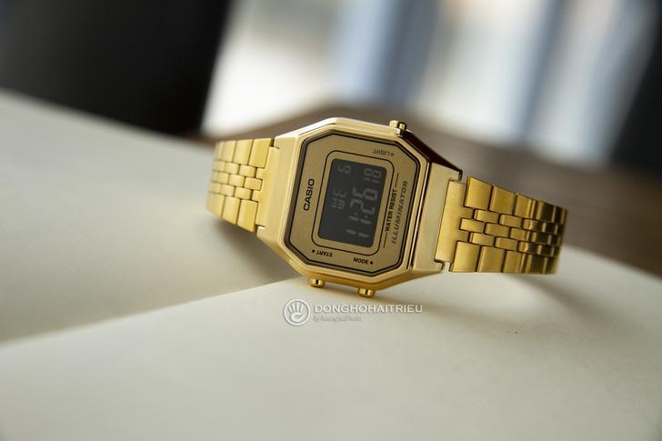 Đồng hồ Casio LA680WGA-9BDF: Lột xác với thiết kế quen thuộc - Ảnh 1