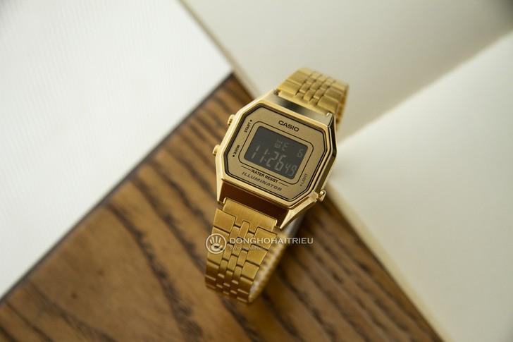 Đồng hồ Casio LA680WGA-9BDF: Lột xác với thiết kế quen thuộc - Ảnh 2