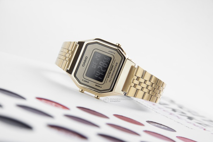 Đồng hồ Casio LA680WGA-9BDF: Lột xác với thiết kế quen thuộc - Ảnh 3