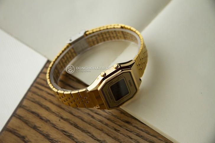 Đồng hồ Casio LA680WGA-9BDF: Lột xác với thiết kế quen thuộc - Ảnh 5